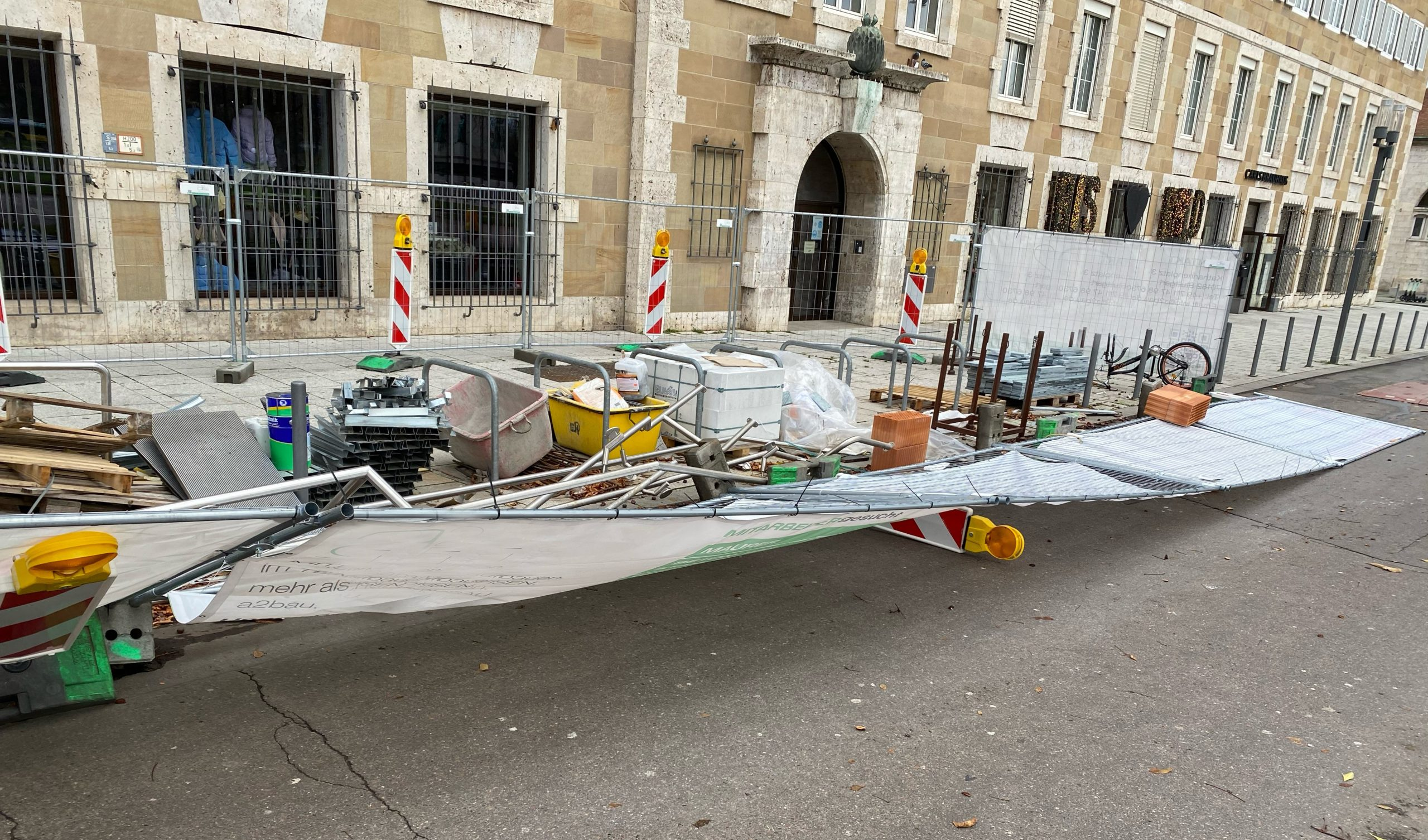 Baustelle - Überwachung / Baustellenüberwachung Stuttgart